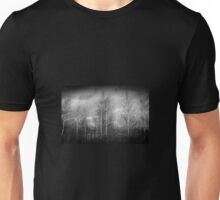 Trees in Black and White Unisex T-Shirt