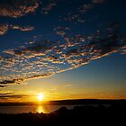 Sunset from Whinney Hill by Alan McMorris