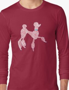 Pink Poodle  Long Sleeve T-Shirt