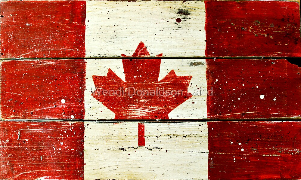 Canada Day by Wendi Donaldson Laird