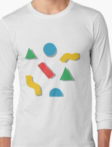 shapes Long Sleeve T-Shirt