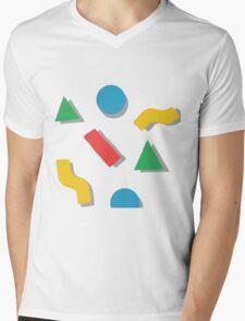shapes Mens V-Neck T-Shirt
