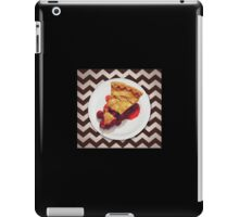 This cherry pie is a miracle iPad Case/Skin