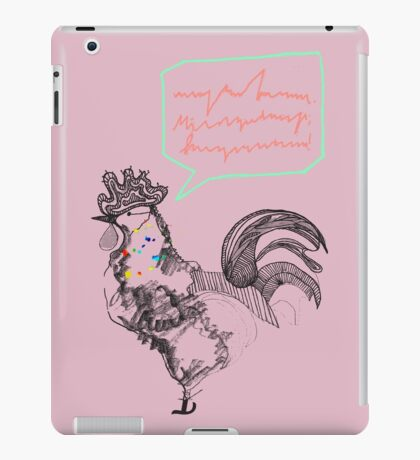 Mr Rooster iPad Case/Skin