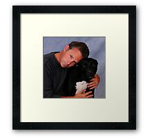 Bullet & Dad Framed Print