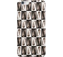 Elegant Art Deco Sea Shell Pattern iPhone Case/Skin