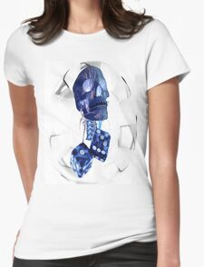 Rearview Dice Womens Fitted T-Shirt