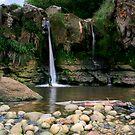 """A Smuggler's Waterfall"" by Bradley Shawn  Rabon"