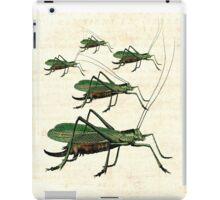 Grasshopper Parade  iPad Case/Skin