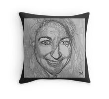 Sketch Class/ for Kylie Throw Pillow