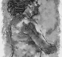 Art Class / homage to Andrew Loomis by bev langby