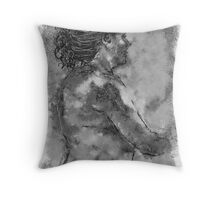 Art Class / homage to Andrew Loomis Throw Pillow