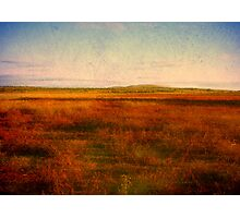 Red Earth Photographic Print