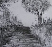Country lane by JayEeBee