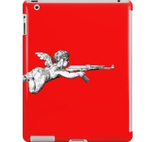 Cupid with an AK 47 iPad Case/Skin