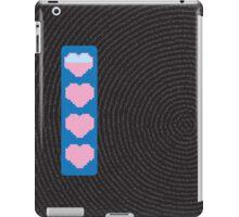 Digital power hearts down iPad Case/Skin