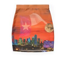 Dallas Sunrise Skyline Mini Skirt