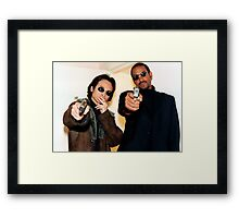 The Laundrymen Framed Print
