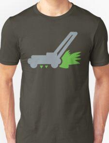Lawnmower on the grass Unisex T-Shirt