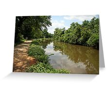 The C&O Canal Greeting Card