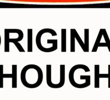 Danger - Original Thought Imminent Sticker