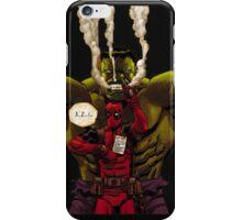 Hulk Deadpool iPhone Case/Skin