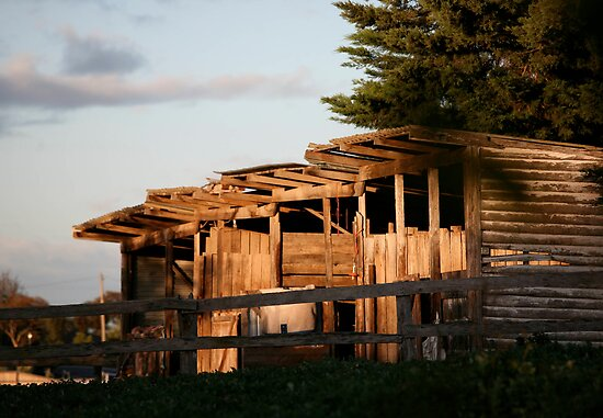 farmscapes #4, old stables by stickelsimages