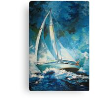 A Favorable Wind Canvas Print