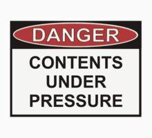 Danger - Contents Under Pressure Kids Clothes