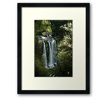 Hopetoun Falls, upper view ~ Otway National Park Framed Print