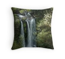 Hopetoun Falls, upper view ~ Otway National Park Throw Pillow