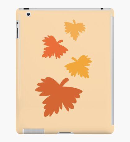 4 fall autumn leaves iPad Case/Skin