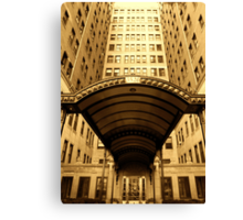 GOLDEN HIGH RISE Canvas Print