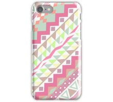 Girly Candy Pastel Modern Andes Aztec Pattern iPhone Case/Skin