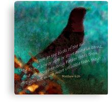 Matthew 6:26 Canvas Print