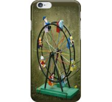 Round and round we go iPhone Case/Skin