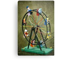 Round and round we go Metal Print