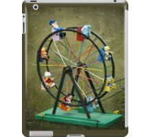 Round and round we go iPad Case/Skin