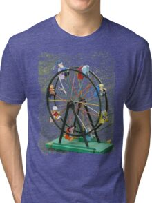 Round and round we go Tri-blend T-Shirt