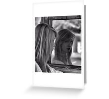 Mirror Mirror on the Garage Greeting Card