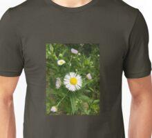 White wildflower Unisex T-Shirt