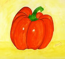 Pumpkin or Pepper   ? by Anne Gitto