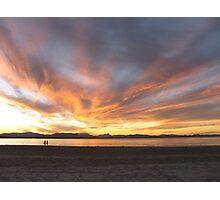 Sunset at Byron Bay Photographic Print