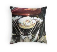 Chrome Love Throw Pillow
