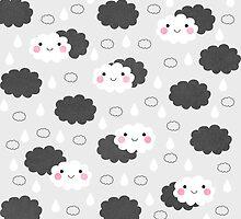 Happy Little Clouds by Elisabeth Fredriksson