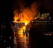 "Vivid Sydney - The sinking of ""Three Bees"" by John Buxton"