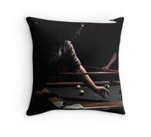 A Tough Game Throw Pillow