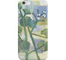 scented geranium one iPhone Case/Skin