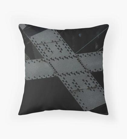rivets Throw Pillow