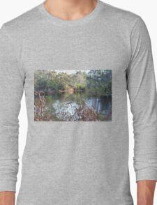The lake, Belair National Park, South Australia. Long Sleeve T-Shirt